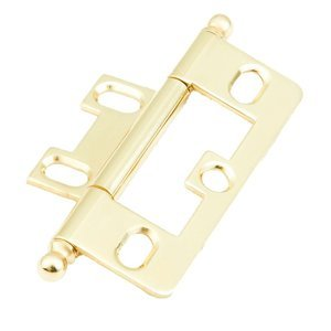 Schaub and Company - Hinges - Ball Tip Hinge in Polished Brass