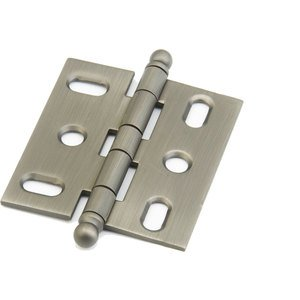 Schaub and Company - Ball Tip Mortise Hinge in Antique Nickel
