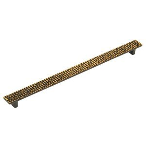 "Schaub and Company - Mosaic - 12 5/8"" Centers Pull in French Antique Bronze"