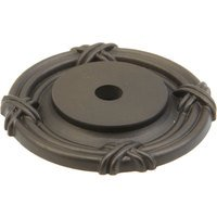 "Schaub and Company - Versailles - Solid Brass Oil Rubbed Bronze 1 1/2"" (38mm) Round Backplate"