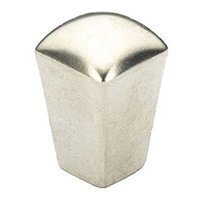 "Schaub and Company - SkyeVale - 1/2"" Knob in Satin Nickel"