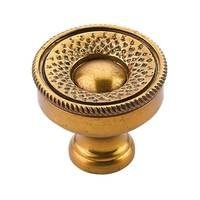 "Schaub and Company - Sonata - 1 1/4"" Diameter Knob in Paris Brass"