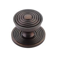 "Schaub and Company - Sonata - 1 1/8"" Diameter Knob in Dark Antique Bronze"